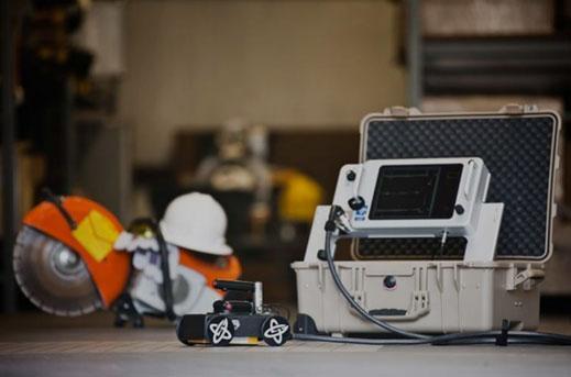 Concrete Rebar 3D GPRS Scanning